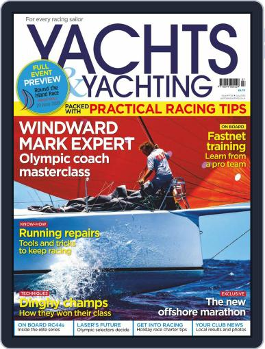 Yachts & Yachting July 1st, 2019 Digital Back Issue Cover