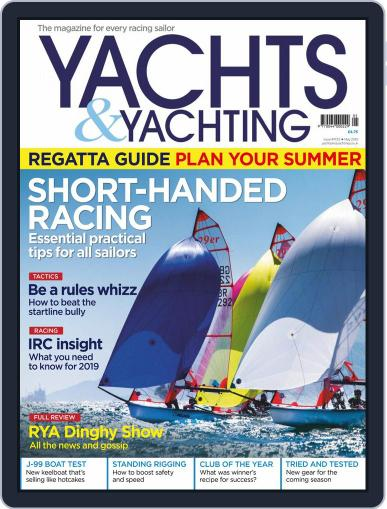 Yachts & Yachting May 1st, 2019 Digital Back Issue Cover