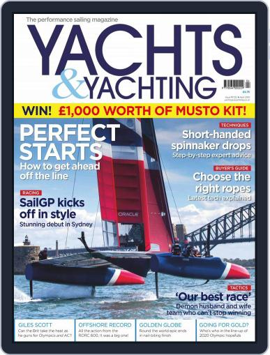 Yachts & Yachting (Digital) April 1st, 2019 Issue Cover