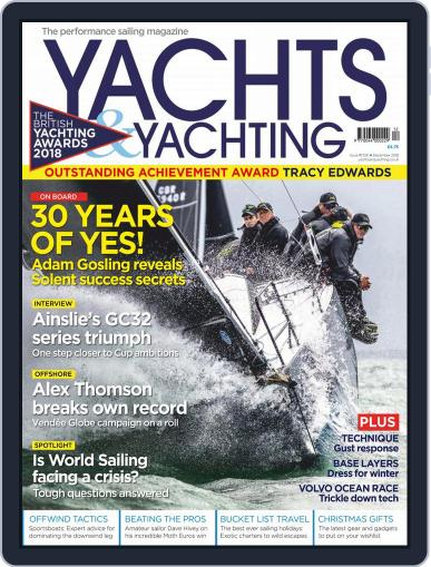Yachts & Yachting (Digital) December 1st, 2018 Issue Cover