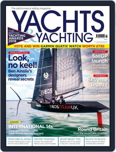 Yachts & Yachting (Digital) November 1st, 2018 Issue Cover