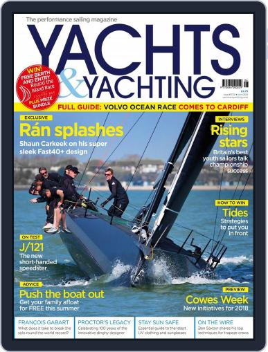 Yachts & Yachting (Digital) June 1st, 2018 Issue Cover