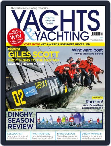 Yachts & Yachting December 1st, 2017 Digital Back Issue Cover