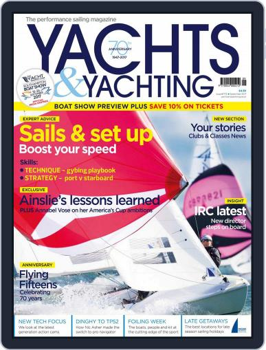 Yachts & Yachting September 1st, 2017 Digital Back Issue Cover