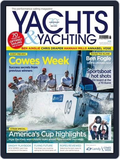 Yachts & Yachting August 1st, 2017 Digital Back Issue Cover