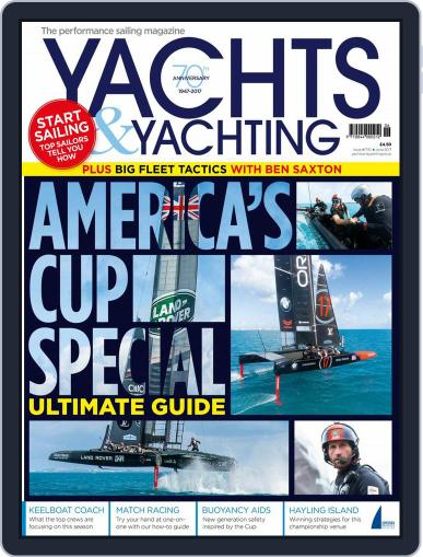 Yachts & Yachting (Digital) June 1st, 2017 Issue Cover