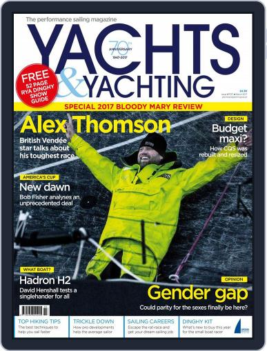Yachts & Yachting March 1st, 2017 Digital Back Issue Cover