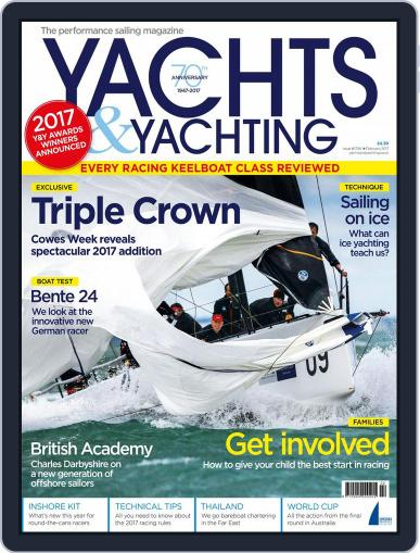 Yachts & Yachting (Digital) February 1st, 2017 Issue Cover
