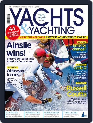 Yachts & Yachting (Digital) January 1st, 2017 Issue Cover