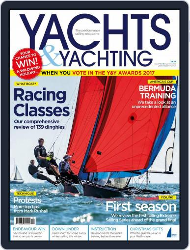 Yachts & Yachting December 1st, 2016 Digital Back Issue Cover