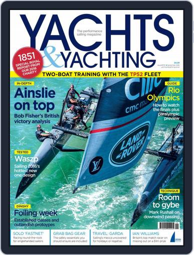 Yachts & Yachting (Digital) September 1st, 2016 Issue Cover