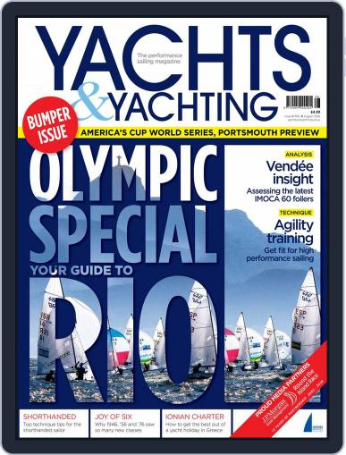 Yachts & Yachting July 8th, 2016 Digital Back Issue Cover