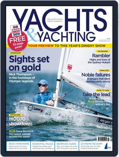 Yachts & Yachting February 12th, 2016 Digital Back Issue Cover