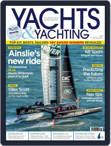 Yachts & Yachting (Digital) February 1st, 2016 Issue Cover