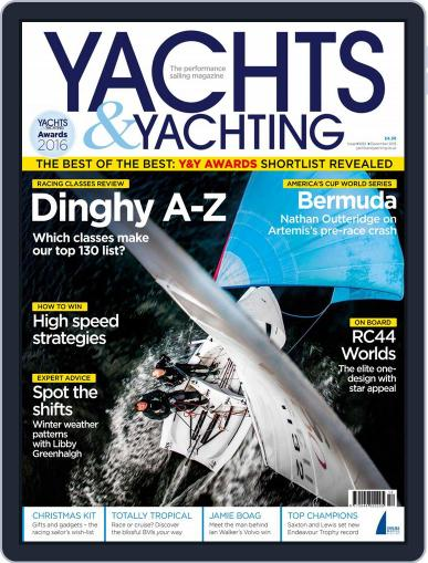 Yachts & Yachting (Digital) December 1st, 2015 Issue Cover
