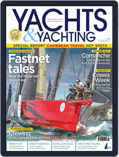 Yachts & Yachting (Digital) September 10th, 2015 Issue Cover