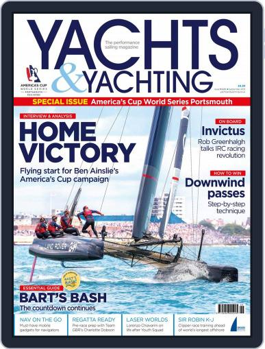 Yachts & Yachting (Digital) September 1st, 2015 Issue Cover