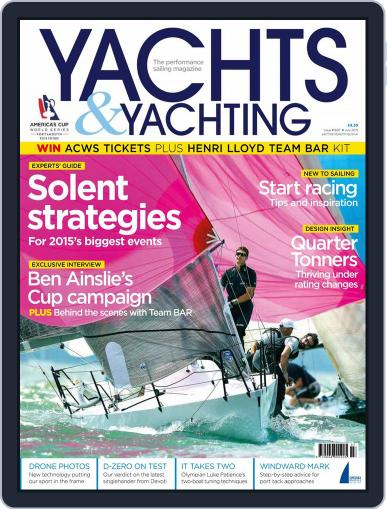 Yachts & Yachting June 11th, 2015 Digital Back Issue Cover
