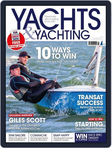 Yachts & Yachting March 11th, 2015 Digital Back Issue Cover