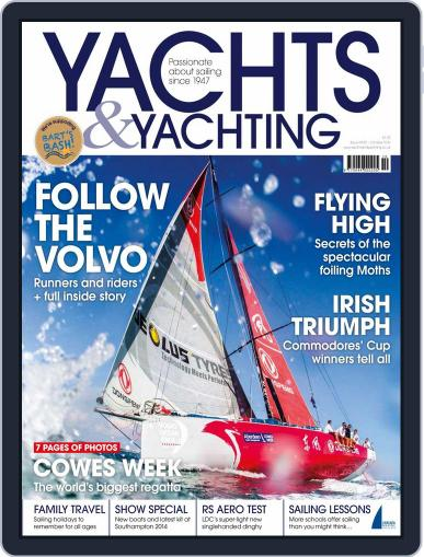 Yachts & Yachting (Digital) September 19th, 2014 Issue Cover