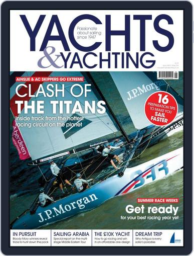 Yachts & Yachting April 3rd, 2014 Digital Back Issue Cover
