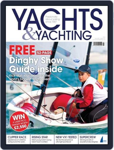 Yachts & Yachting February 6th, 2014 Digital Back Issue Cover