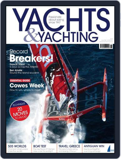 Yachts & Yachting July 3rd, 2013 Digital Back Issue Cover