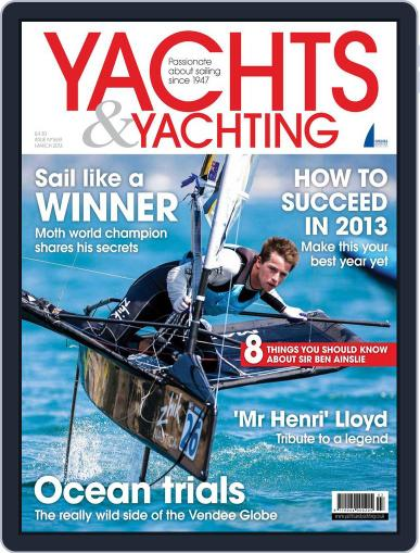 Yachts & Yachting February 5th, 2013 Digital Back Issue Cover