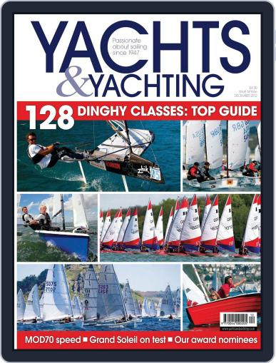 Yachts & Yachting (Digital) November 5th, 2012 Issue Cover