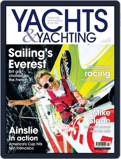 Yachts & Yachting (Digital) October 5th, 2012 Issue Cover