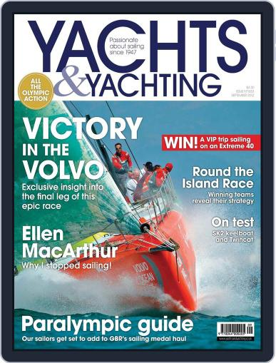 Yachts & Yachting (Digital) August 3rd, 2012 Issue Cover