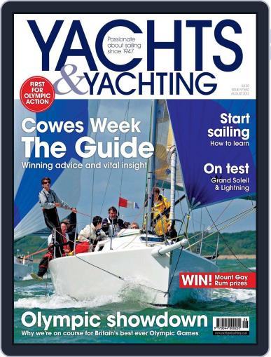 Yachts & Yachting (Digital) July 6th, 2012 Issue Cover
