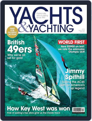 Yachts & Yachting February 29th, 2012 Digital Back Issue Cover