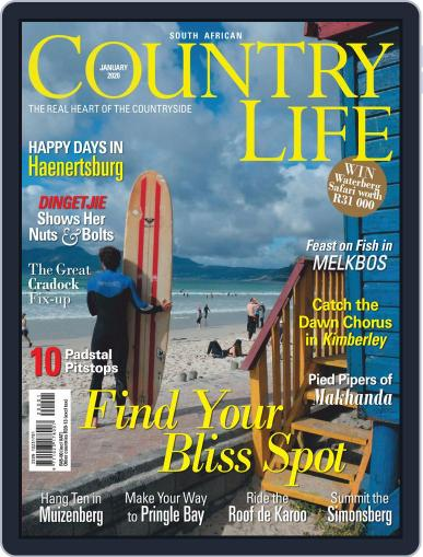 SA Country Life January 1st, 2020 Digital Back Issue Cover