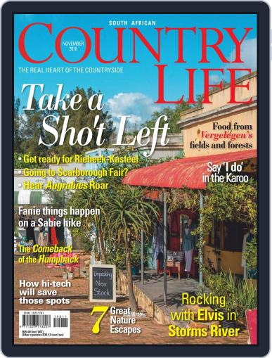 SA Country Life November 1st, 2019 Digital Back Issue Cover