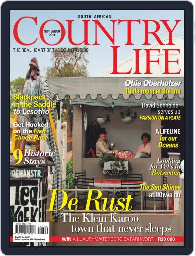 SA Country Life (Digital) September 1st, 2019 Issue Cover