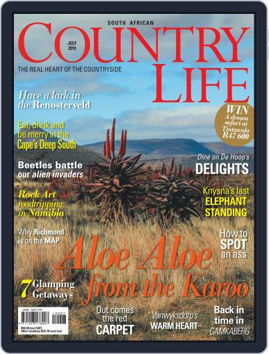 SA Country Life (Digital) July 1st, 2019 Issue Cover