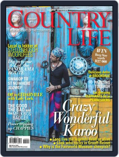 SA Country Life (Digital) February 1st, 2019 Issue Cover