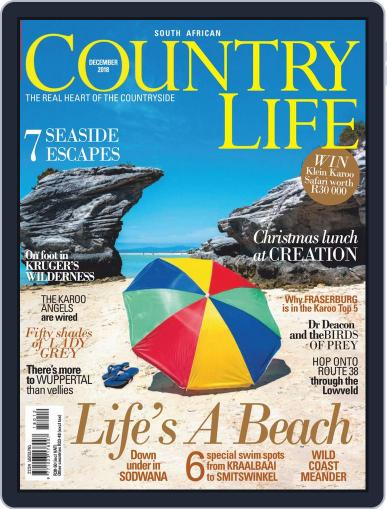 SA Country Life (Digital) December 1st, 2018 Issue Cover