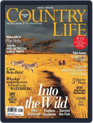 SA Country Life (Digital) November 1st, 2018 Issue Cover