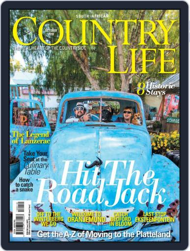 SA Country Life October 1st, 2018 Digital Back Issue Cover