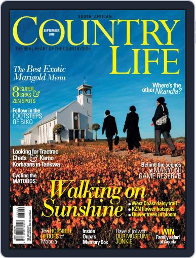 SA Country Life (Digital) September 1st, 2018 Issue Cover