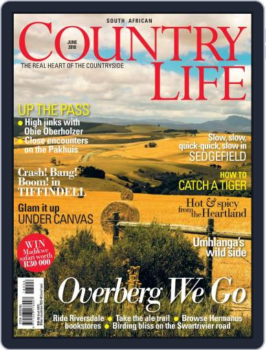 SA Country Life (Digital) June 1st, 2018 Issue Cover