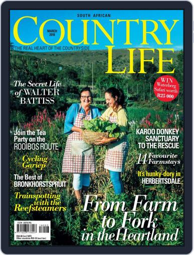 SA Country Life March 1st, 2018 Digital Back Issue Cover