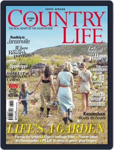 SA Country Life October 1st, 2017 Digital Back Issue Cover