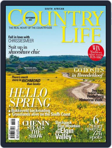 SA Country Life September 1st, 2017 Digital Back Issue Cover