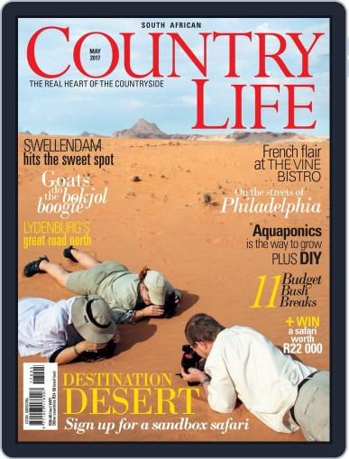 SA Country Life May 1st, 2017 Digital Back Issue Cover