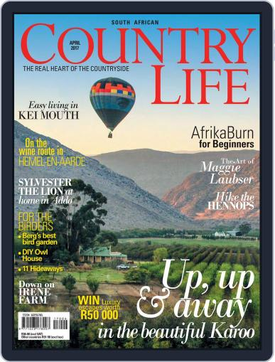 SA Country Life April 1st, 2017 Digital Back Issue Cover
