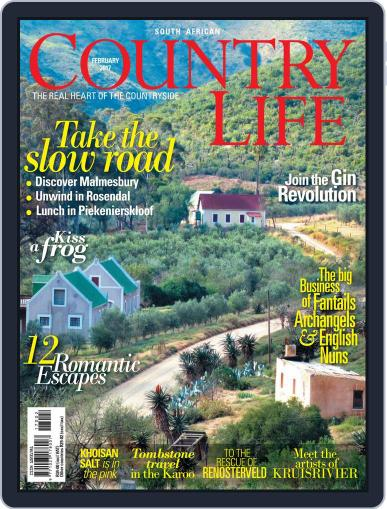 SA Country Life February 1st, 2017 Digital Back Issue Cover