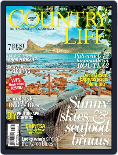 SA Country Life (Digital) January 1st, 2017 Issue Cover